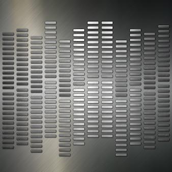 Texture métallique abstraite