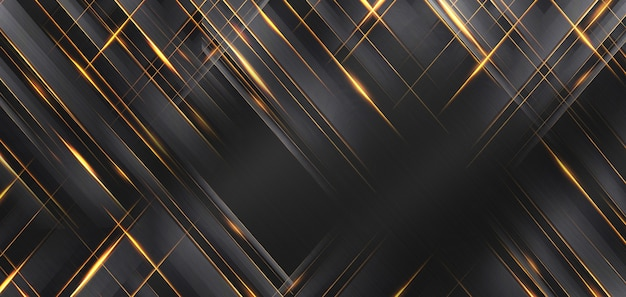 Texture métallique avec fond abstrait or