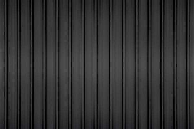 Texture métallique noire pour le fond