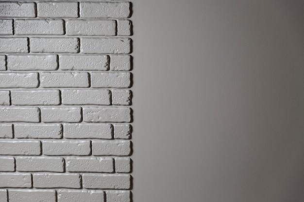 Texture de modèle de mur de brique grise