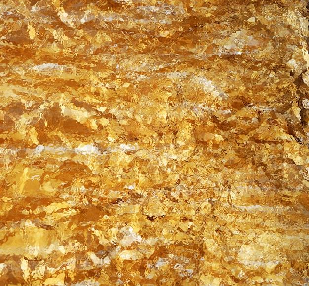 Texture mosaïque dorée