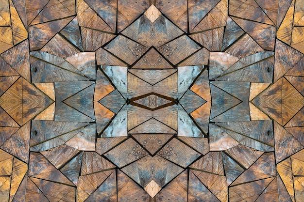 Texture et motif de bois pour le fond.