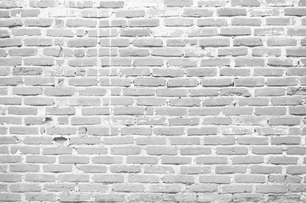 Texture de motif de mur en brique blanche pour le concept de fond de conception luxueuse.