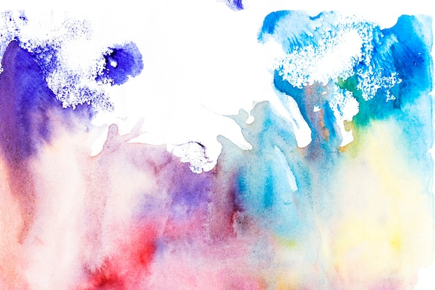 Texture multicolore sur fond blanc