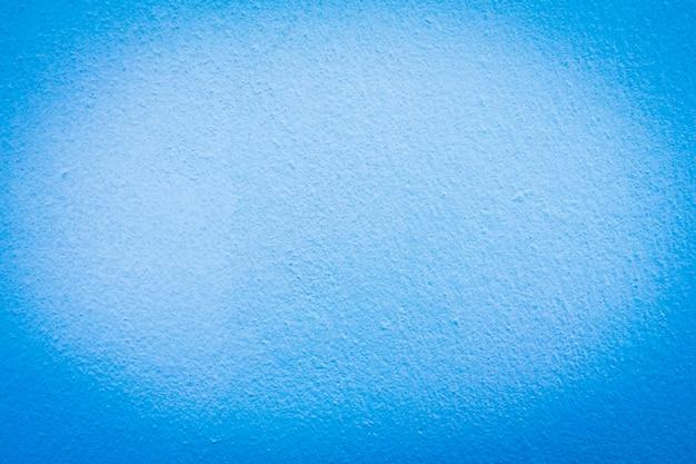 Texture de mur en béton bleu pour le fond