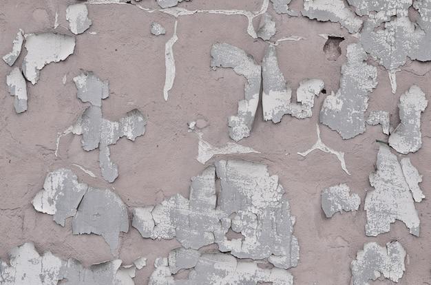Texture de mur en béton obsolète close-up patiné et teinté
