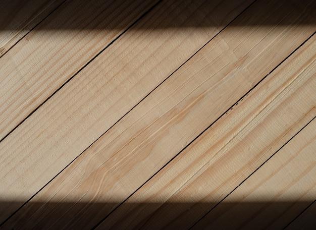 Texture de mur en bois avec bordure d'ombre