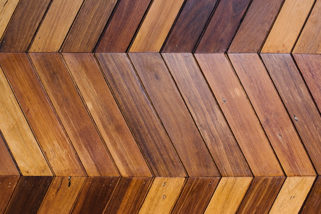 Texture de mur en bois dur stratifié brun
