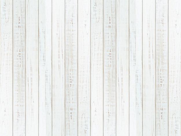 Texture de mur en bois naturel blanc et fond, surface vide en bois blanc pour la conception