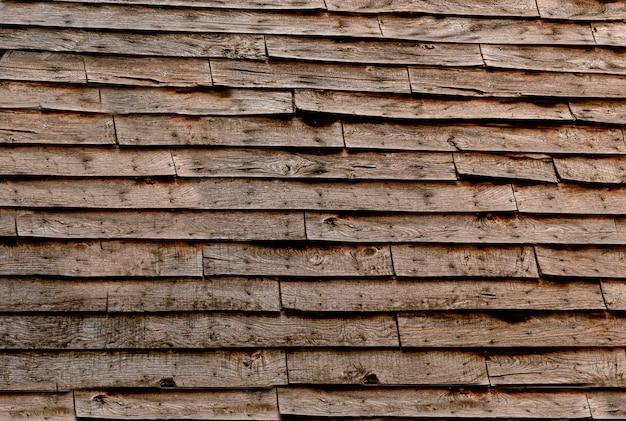 Texture sur mur en bois rustique
