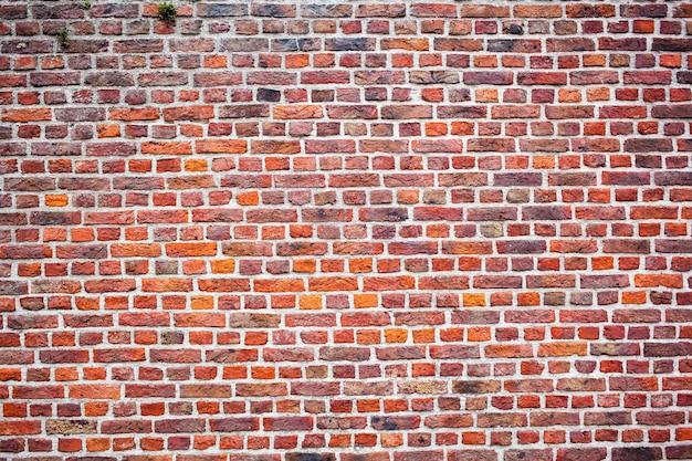 Texture de mur de brique ancienne marron