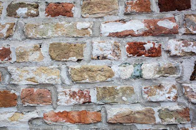 Texture de mur de brique ancienne