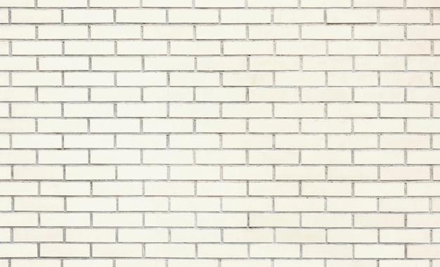 Texture de mur de brique blanche ou fond