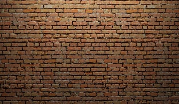 Texture de mur de brique brune