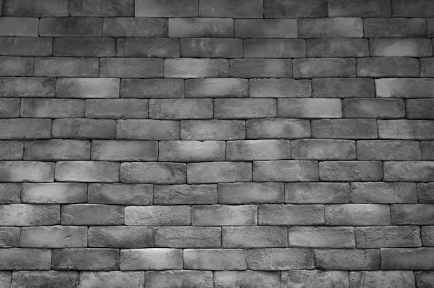 Texture de mur de brique de couleur sombre abstraite