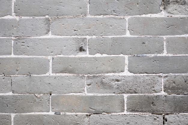 Texture de mur de brique gris et fond.