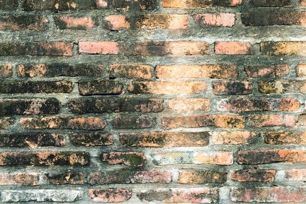 Texture de mur de brique pour l'arrière plan