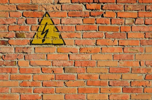 Texture de mur de brique rouge