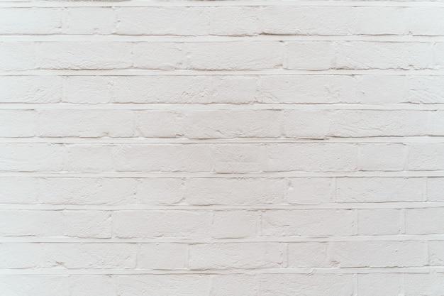 Texture de mur de briques blanches modernes pour le fond