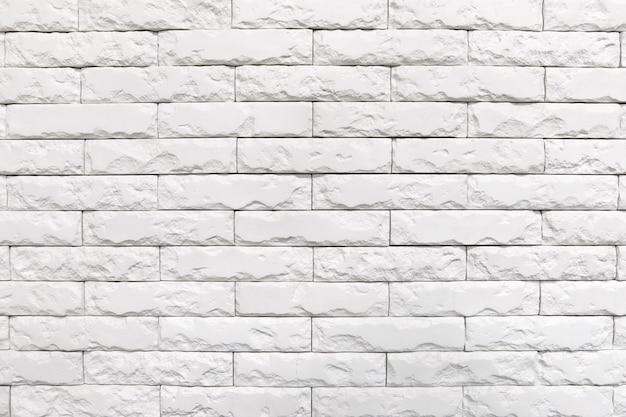 Texture de mur de briques blanches