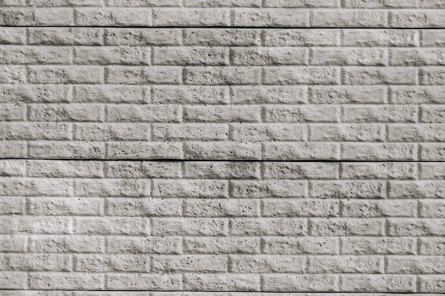 Texture de mur de briques de carreaux gris décoratifs