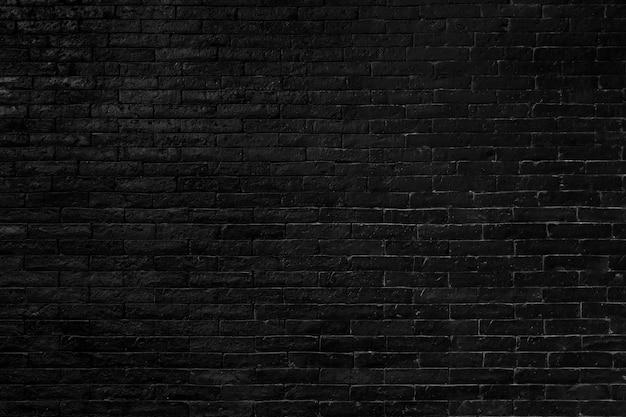 Texture de mur de briques noires pour le fond.
