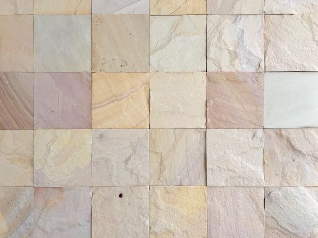 Texture de mur carrée moderne en pierre.