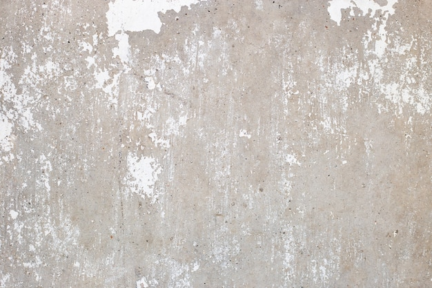Texture de mur de ciment blanc et gris abstrait, fond de béton