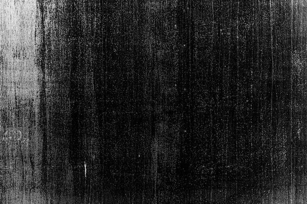Texture de mur de fissure de béton sale rugueux vieilli vieilli surface noir et blanc avec effet de grain de bruit de poussière grunge abstrait pour le fond.