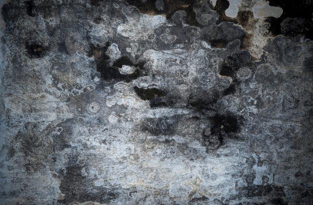 Texture de mur fissuré de ciment en béton pour le fond