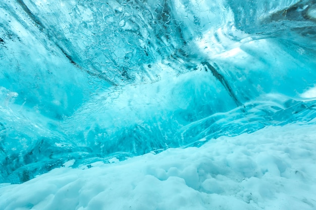 Texture de mur de glace