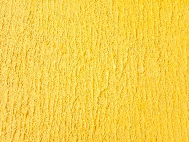 Texture de mur jaune.