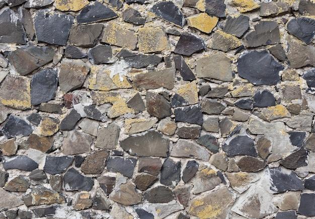 Texture d'un mur de pierre en arrière-plan.