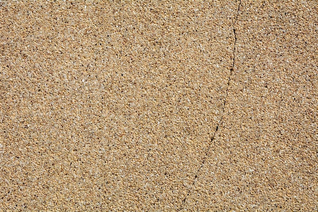 Texture de mur en pierre brune de tremblement de terre