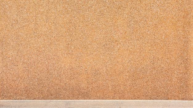Texture de mur en pierre marron - fond