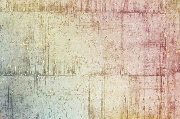 Texture d'un mur de pierre avec de l'or. l'arrière-plan abstrait de la beauté de la surface texturée en relief des couleurs blanches, grises, noires et dorées. l'image mixte complexe pour la décoration d'un sma moderne