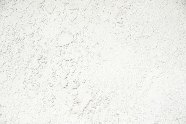 Texturé de mur de plâtre en béton et fond blanc