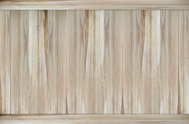 Texture de mur de surface de panneau de bois brun clair naturel.