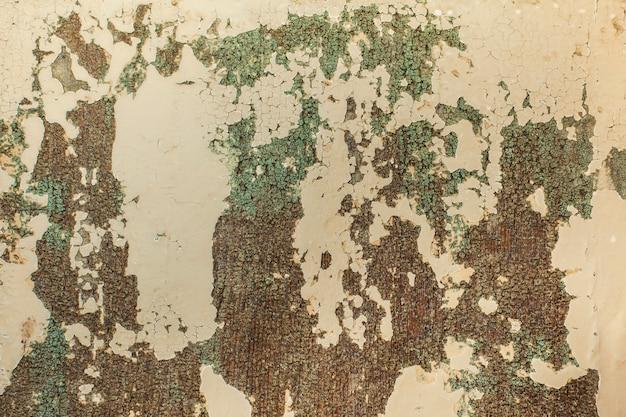 Texture murale avec peinture endommagée