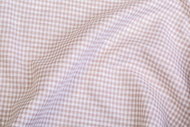 Texture de nappe froissée