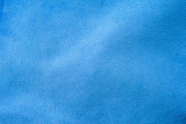 Texture naturelle du cuir bleu.