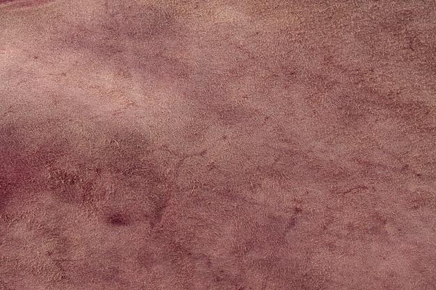 Texture naturelle du cuir marron.
