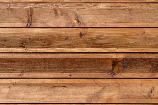 Texture naturelle des planches de bois marron