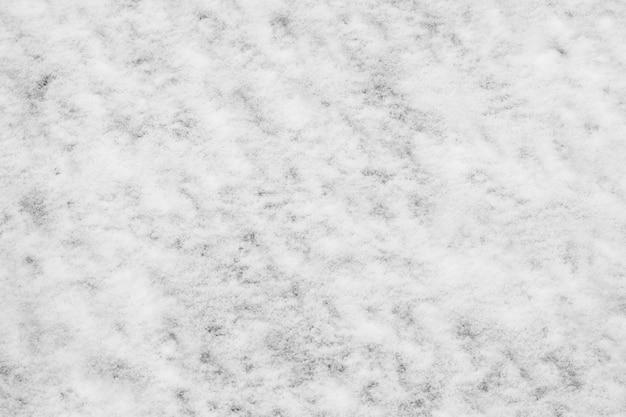 Texture de neige blanche, fond d'hiver et de noël