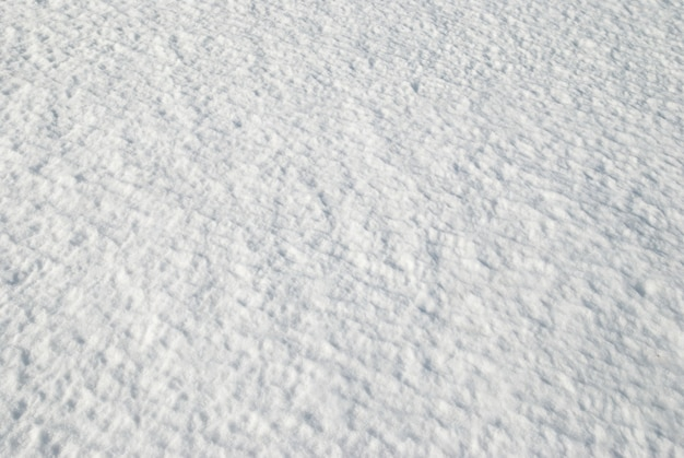 Texture de neige blanche.
