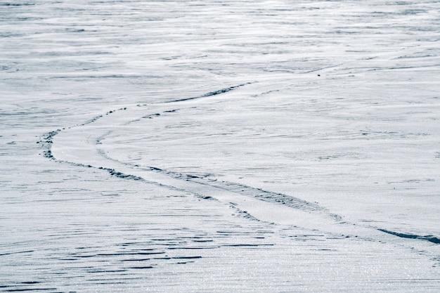 Texture de neige ou fond blanc d'hiver