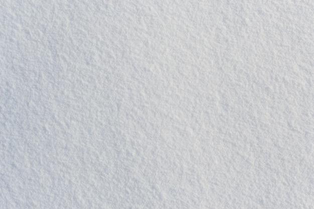 Texture de neige givrée fraîche blanche fond vue de dessus