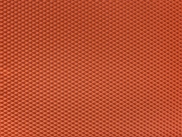 Texture en nid d'abeille. abstrait géométrique orange. modèle.