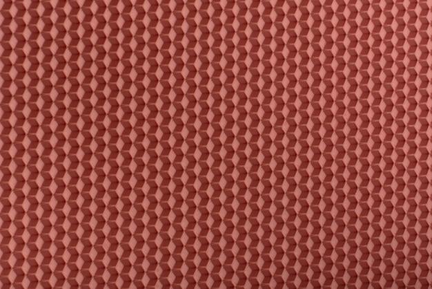 Texture en nid d'abeille. abstrait géométrique en terre cuite. modèle.