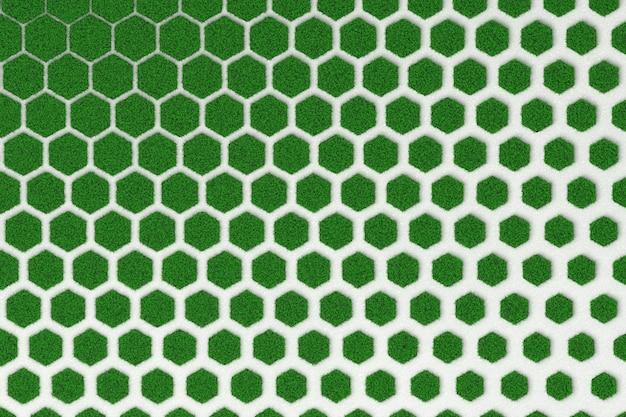 Texture de nid d'abeille en béton